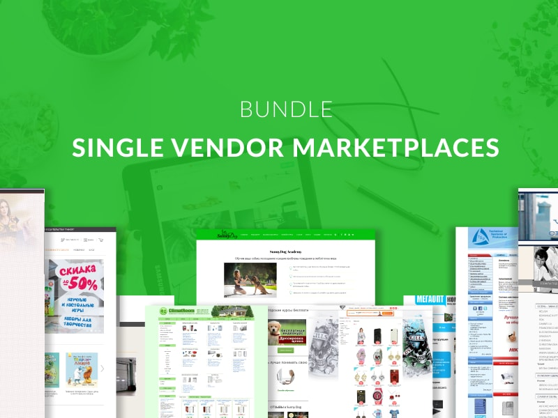 Single Vendor Marketplaces